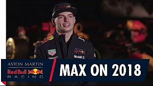 Max Verstappen Previews the 2018 F1 Season