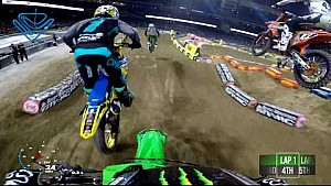Adam Cianciarulo main event 2018 Monster Energy Supercross from San Diego