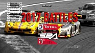 Total 24 hours of Spa - 2017 battles