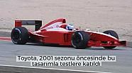 F1 tarihindeki ilginç test tasarımları