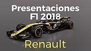 Renault presenta su RS18 para la Fórmula 1 2018 ESP