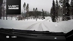 Rally Sweden 2018: onboard Lappi SS18