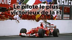 Le pilote le plus victorieux de l'Histoire de la F1