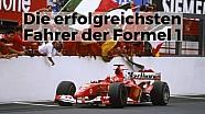 Die erfolgreichsten F1-Fahrer