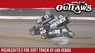 World of Outlaws Craftsman sprint cars the dirt track at Las Vegas March 1, 2018 | Highlights