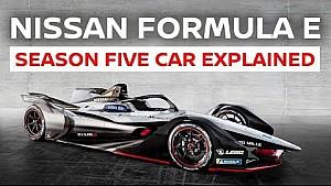 The Nissan Formula E season 5 car explained