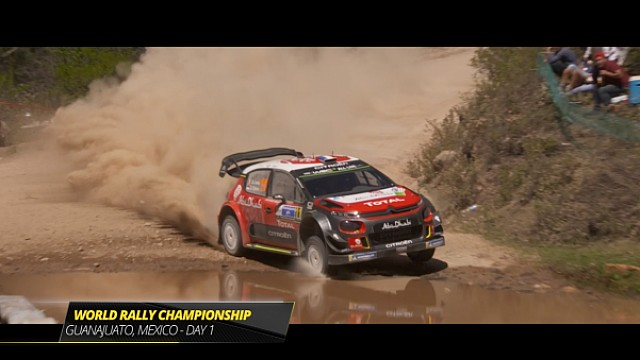 Rally Mexico: Day 1 Highlights