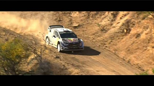 Rallye Mexiko: Highlights, Tag 2