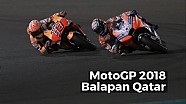 Highlights balapan Qatar - MotoGP 2018