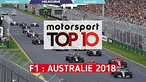 Top 10 - Grand Prix d'Australie