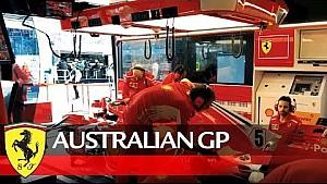 Esto pasó en el GP de Australia