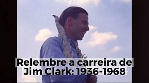 Relembre a carreira de Jim Clark