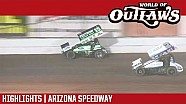 World of Outlaws Craftsman sprint cars Arizona speedway April 7, 2018