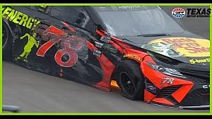 Martin Truex Jr. wrecks out early at Texas