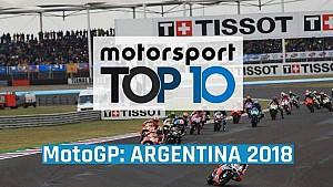 Top 10 MotoGP Argentina 2018