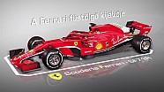 3D-s animáción a Ferrari füstölő kijelzője