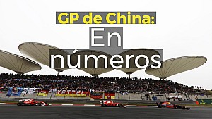 Racing Stories: números del GP de China F1 LAT