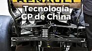 Motorsport Shorts: tecnología en los monoplazas para el GP de China