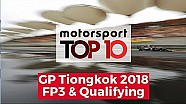 Top 10 highlights FP3 & qualifying | GP Tiongkok 2018