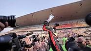 Daniel Ricciardo celebra su victoria en el GP de China