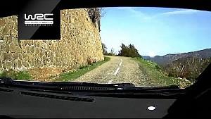 Ott Tänak dans l'ES7 du Tour de Corse