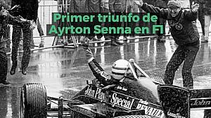 Racing Stories: el primer triunfo de Ayrton Senna en F1
