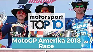 Top 10 Highlights Race | MotoGP Amerika 2018