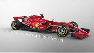 Seperti apa tampilan mobil F1 2018 tanpa Halo?