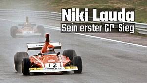 Der 1. Sieg von Niki Lauda