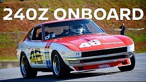 Ride onboard John Morton's Datsun 240Z!