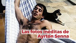 Racing Stories: las fotos inéditas de Ayrton Senna