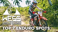 Enduro series 2018: 7 enduro spots you need to know.