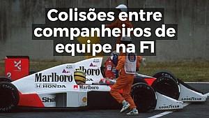 VÍDEO: Colisões entre companheiros de equipe na F1