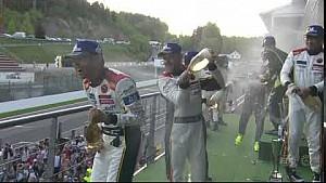 2018 total 6 hours of Spa-Francorchamps - Selebrasi podium