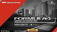 F1 eSports - PS4 Bakü özeti