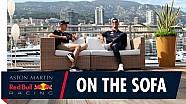 Lachen, gieren, brullen met Daniel Ricciardo en Max Verstappen in Monaco