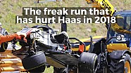 Haas' troubled F1 campaign
