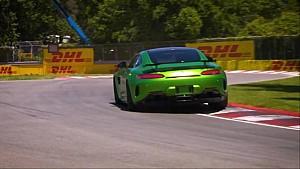 Les Pirelli Hot Laps avec Hamilton à Montréal