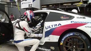 24 Heures du Mans 2018 - Arrêt au stand de la BMW M8 GTE #81