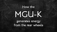 How does the MGU-K contribute to braking?