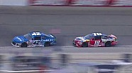Kyle Busch and Kyle Larson collide in wild finish