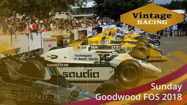 Live: Goodwood FOS - domenica