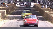 Porsche geçidi - 2018 Goodwood FOS