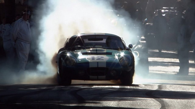 ​Shelby Cobra Daytona en la colina de Goodwood